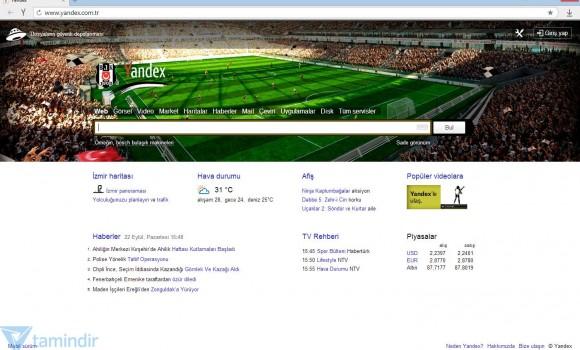 Yandex Browser Beşiktaş Ekran Görüntüleri - 3