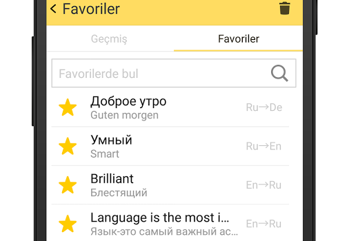 Yandex.Çeviri Ekran Görüntüleri - 5