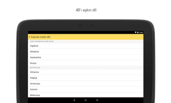 Yandex.Çeviri Ekran Görüntüleri - 4