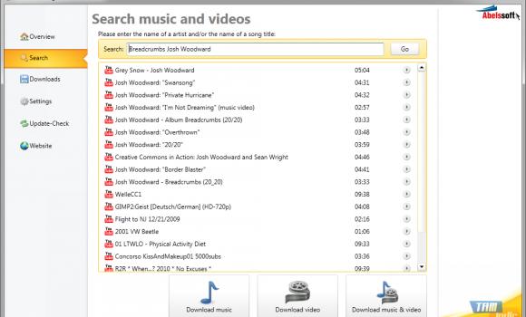 YouTube Song Downloader Ekran Görüntüleri - 1