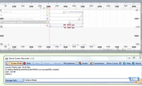 Zebra Screen Recorder Ekran Görüntüleri - 1