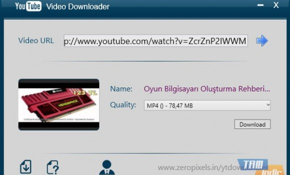 ZeroPixels YouTube Video Downloader Ekran Görüntüleri - 2