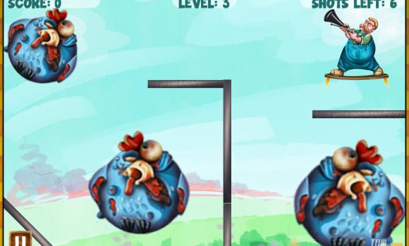 Zombie Chicken Frenzy Ekran Görüntüleri - 4