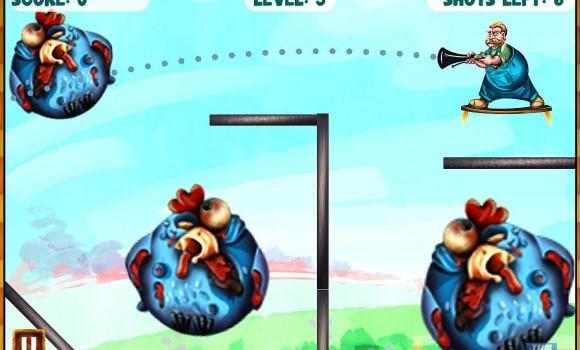 Zombie Chicken Frenzy Ekran Görüntüleri - 7