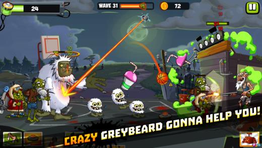 Zombie Smash Basketball Ekran Görüntüleri - 3