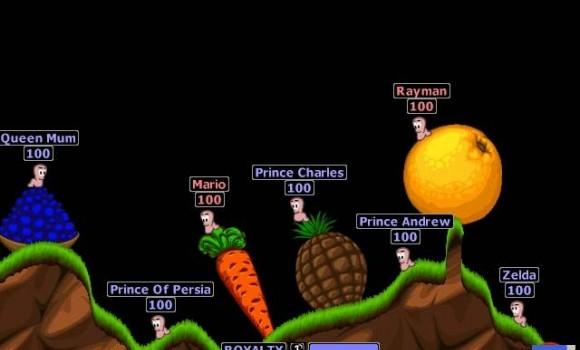 Worms World Party Demo Ekran Görüntüleri - 1