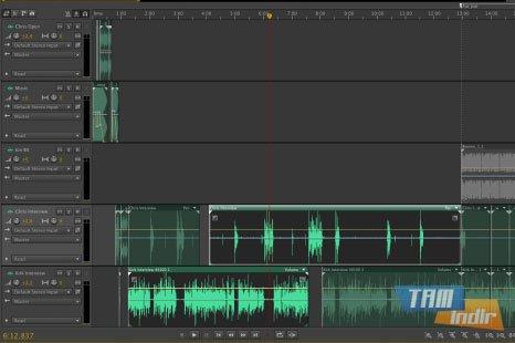Adobe Audition Ekran Görüntüleri - 2