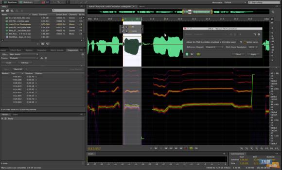 Adobe Audition Ekran Görüntüleri - 1