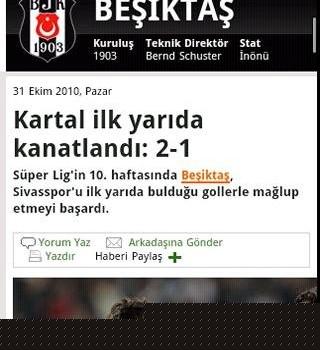 Andro Beşiktaş Haber Ekran Görüntüleri - 1