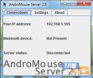 AndroMouse Desktop Ekran Görüntüleri - 2