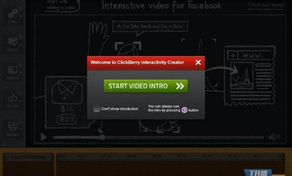 ClickBerry Interactive Video Creator Ekran Görüntüleri - 2