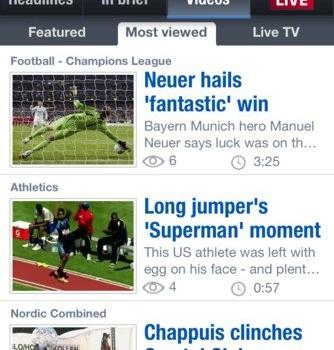 Eurosport.com Ekran Görüntüleri - 2
