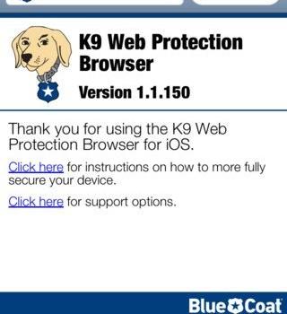 K9 Web Protection Browser Ekran Görüntüleri - 4