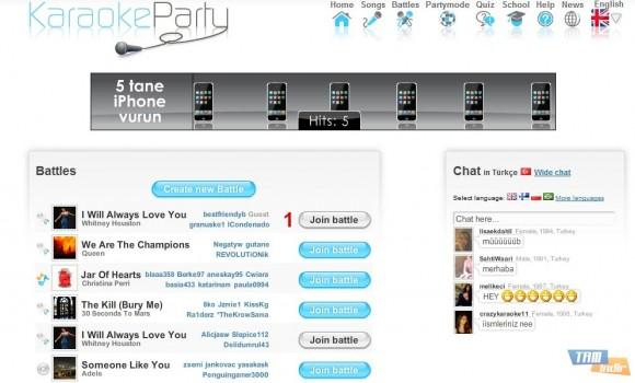 KaraokeParty Ekran Görüntüleri - 1