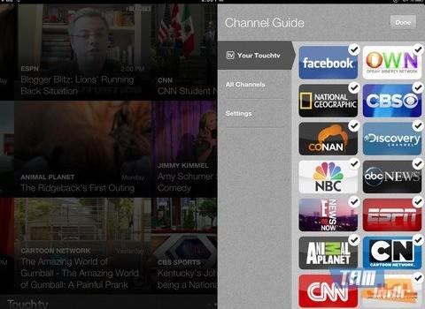 TouchTV Ekran Görüntüleri - 1