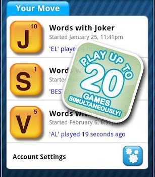 Words With Friends Ekran Görüntüleri - 2