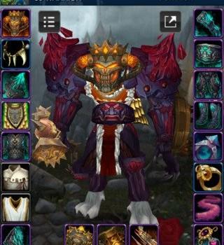 World of Warcraft Armory Ekran Görüntüleri - 4