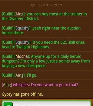 World Of Warcraft Armory Ekran Görüntüleri - 1