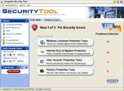 The Computer Security Tool v4.0 Ekran Görüntüleri - 1