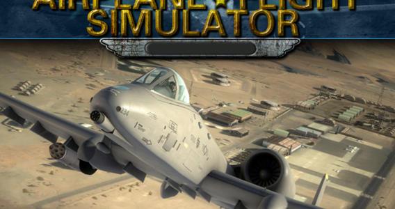 3D Airplane Flight Simulator Ekran Görüntüleri - 2