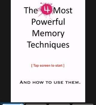 4 Powerful Memory Techniques Ekran Görüntüleri - 5