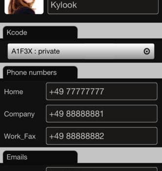 Address Book Ekran Görüntüleri - 4