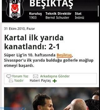 Andro Beşiktaş Haber Ekran Görüntüleri - 4