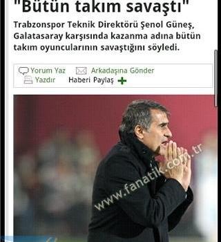 Andro Trabzonspor Haber Ekran Görüntüleri - 2