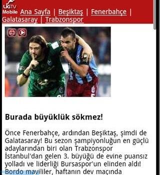 Andro Trabzonspor Haber Ekran Görüntüleri - 1