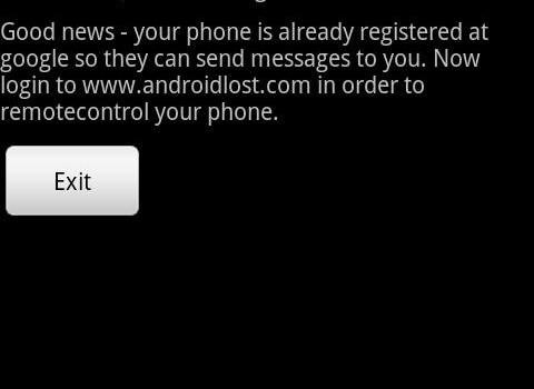 AndroidLost Ekran Görüntüleri - 2