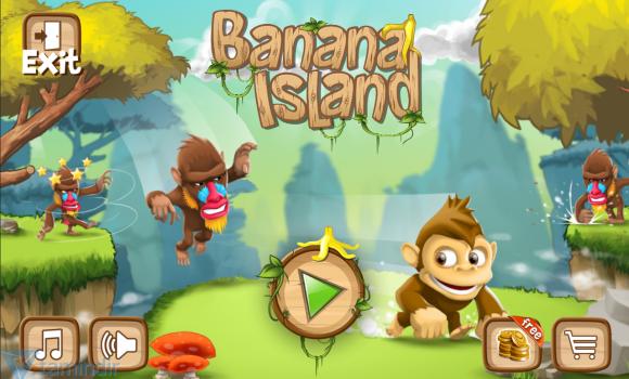 Banana Island: Monkey Run Ekran Görüntüleri - 5