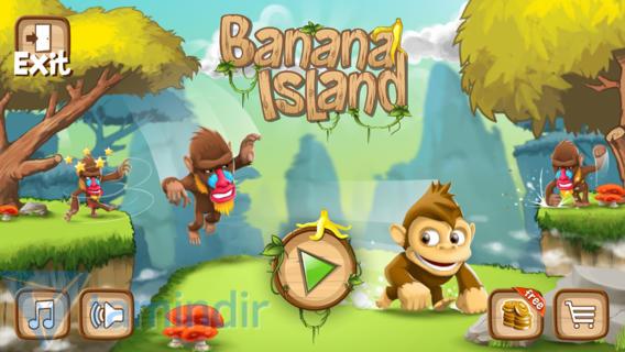 Banana Island: Monkey Run Ekran Görüntüleri - 4