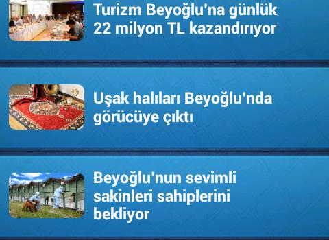 Beyoğlu Belediyesi Ekran Görüntüleri - 2