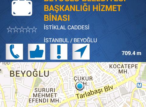 Beyoğlu Belediyesi Ekran Görüntüleri - 1