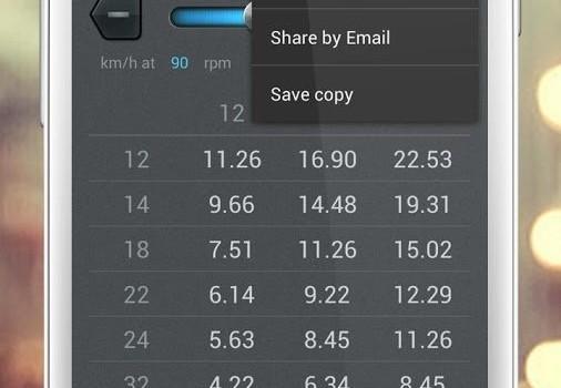 Bike Gear Calculator Ekran Görüntüleri - 1