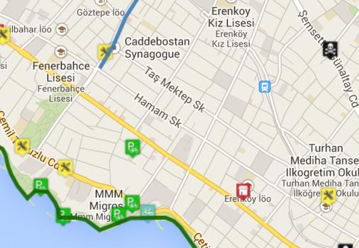 Bisikletli Ulaşım Haritası Ekran Görüntüleri - 3