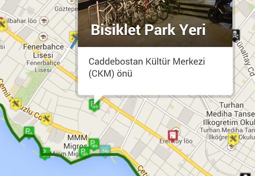 Bisikletli Ulaşım Haritası Ekran Görüntüleri - 2