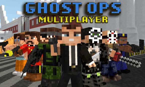 Block Gun 3D: Ghost Ops Ekran Görüntüleri - 5