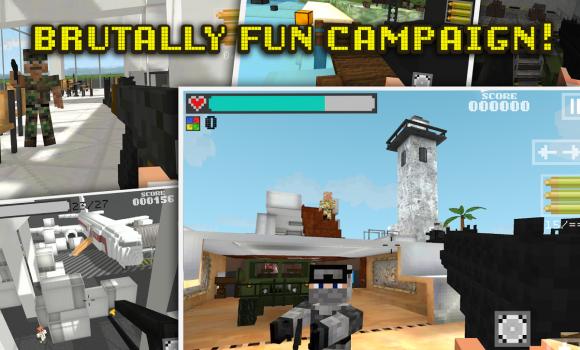 Block Gun 3D: Ghost Ops Ekran Görüntüleri - 3