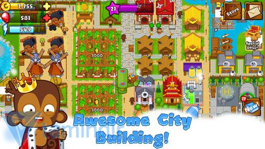 Bloons Monkey City Ekran Görüntüleri - 4
