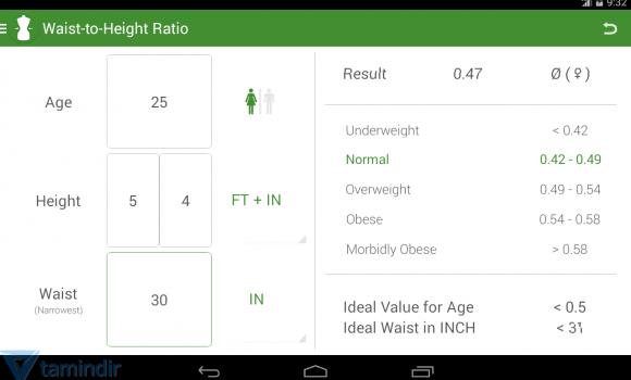 BMI Calculator Ekran Görüntüleri - 5