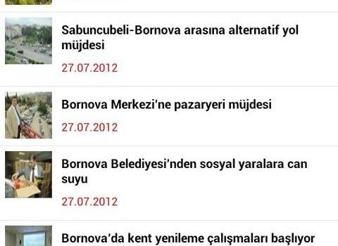 Bornova Belediyesi Ekran Görüntüleri - 2