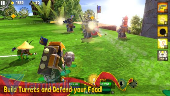 Bug Heroes 2 Ekran Görüntüleri - 1