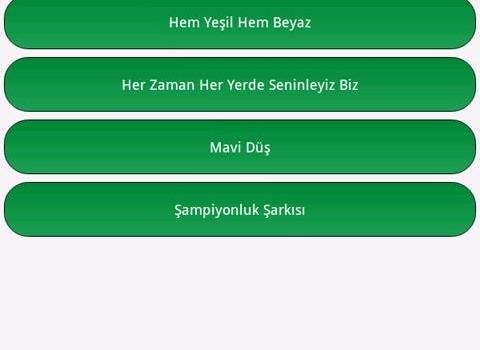 Bursaspor Marşları Ekran Görüntüleri - 1