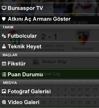 Bursaspor Ekran Görüntüleri - 4