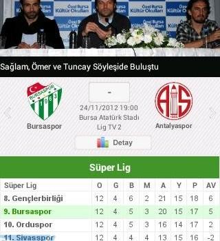 Bursaspor Ekran Görüntüleri - 2