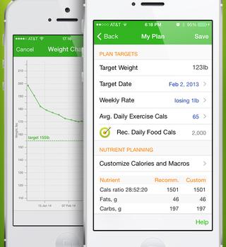 Calorie Counter by MyNetDiary Ekran Görüntüleri - 1