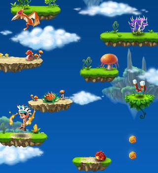 Caveman Jump Ekran Görüntüleri - 1