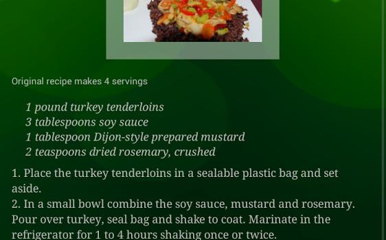 Christmas Recipes Ekran Görüntüleri - 2