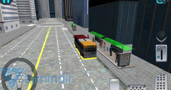 City Bus Driving 3D Ekran Görüntüleri - 3